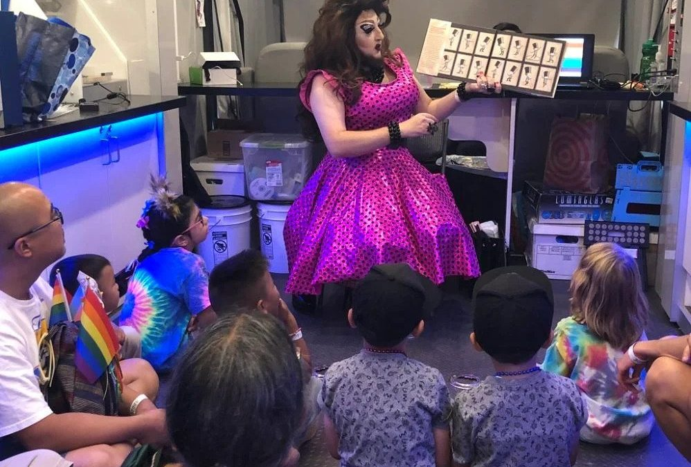 Drag Queen Story Hour Activist Arrested For Child Porn, Still Living With His Adopted Kids